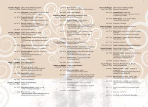 Brochure programma