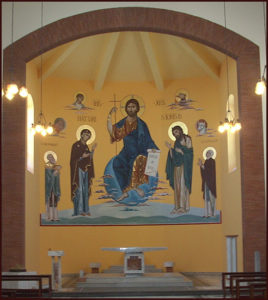 Iconografia Monumentale Affresco - Parrocchia San Girolamo a Corviale (Roma)
