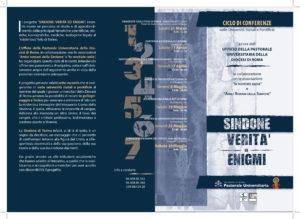 """Brochure """"Sindone Verità ed Enigmi"""""""
