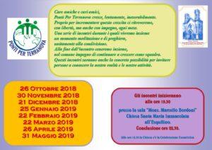 calendario incontri 2019